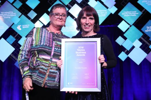 Indigenous-led dialysis service, Purple House the star of the Telstra Northern Territory Business Awards.