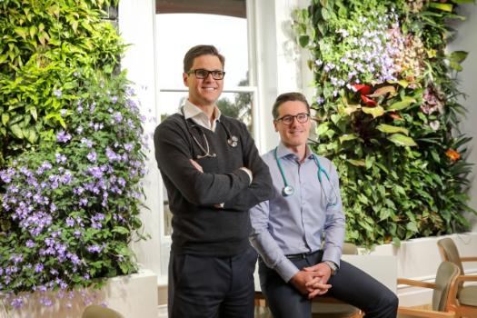 GenWise co-founders, Dr Sebastian Rees and Dr Troye Wallett.