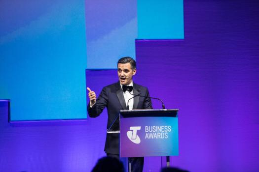 Speaker at 2017 Telstra Business Awards