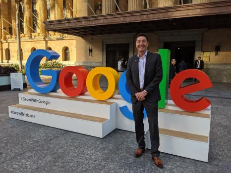 John Ball Country Manager of Google Customer Solutions AUNZ