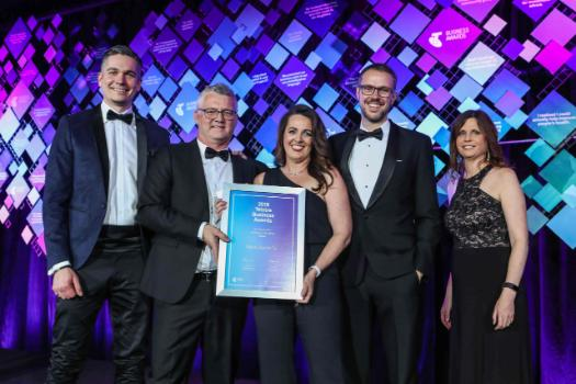 Manly Spirits Co. at the 2018 Telstra Business Awards